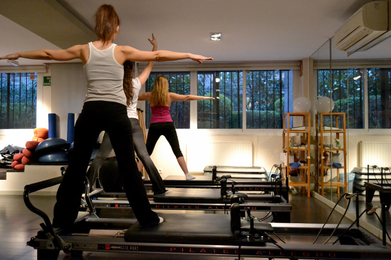 Correccion postural con Pilates