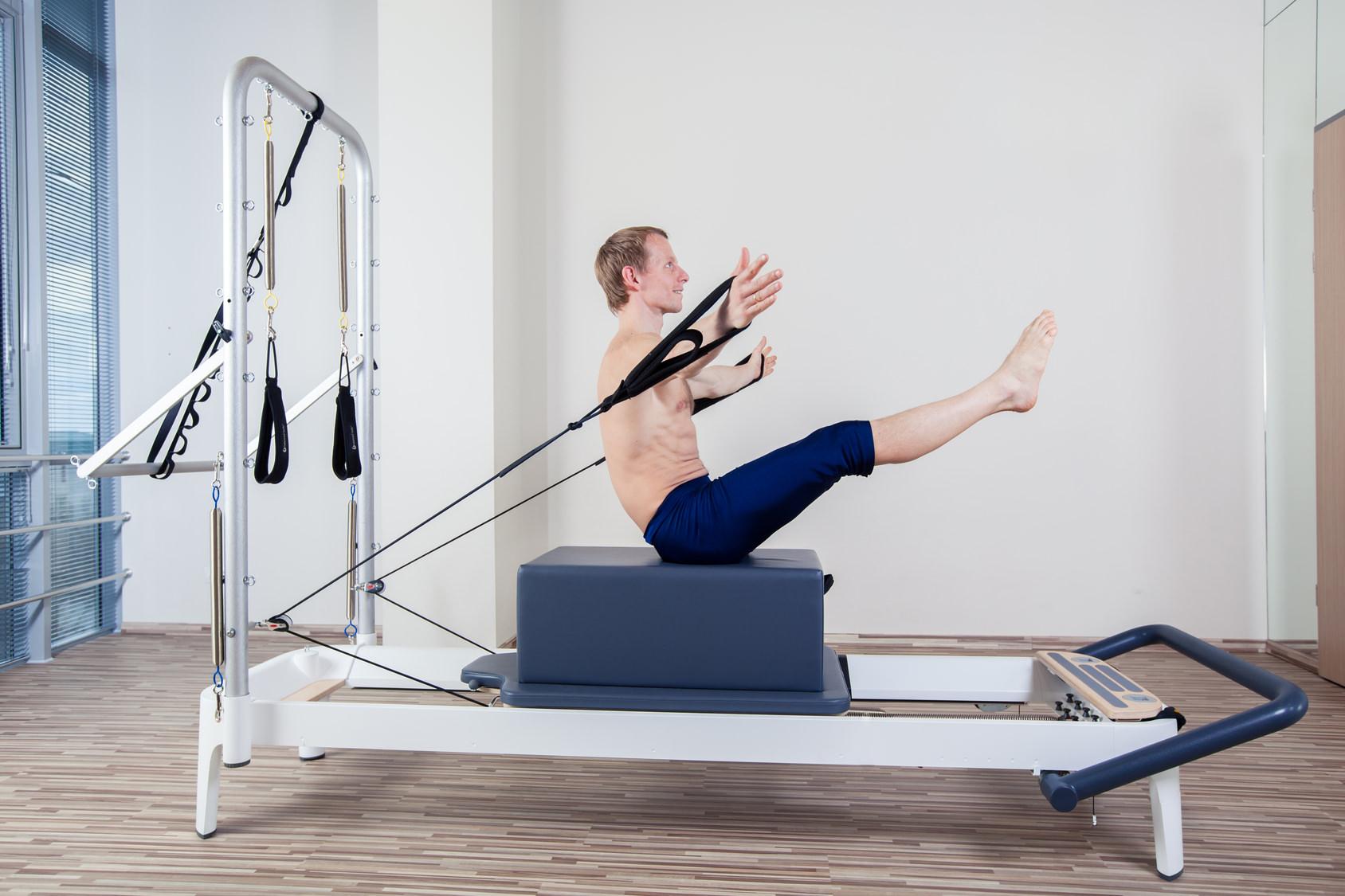 balance body reformer allegro con torre
